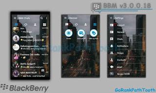 Download BBM Mod GoRankP BBM Mod GoRankPathTooth Transparan 3.0.1.25 Apk TerbaruathTooth Transparan 3.0.0.18