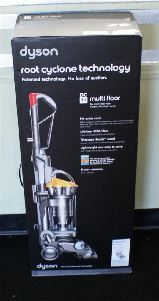 Dyson Dc 33 Multi Floor Root Cyclone Technology Upright