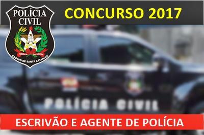 Apostila Concurso Policia Civil de Santa Catarina 2017