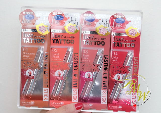 a photo of K-Palette 1Day Tattoo Lasting Lip Tint Stick Review