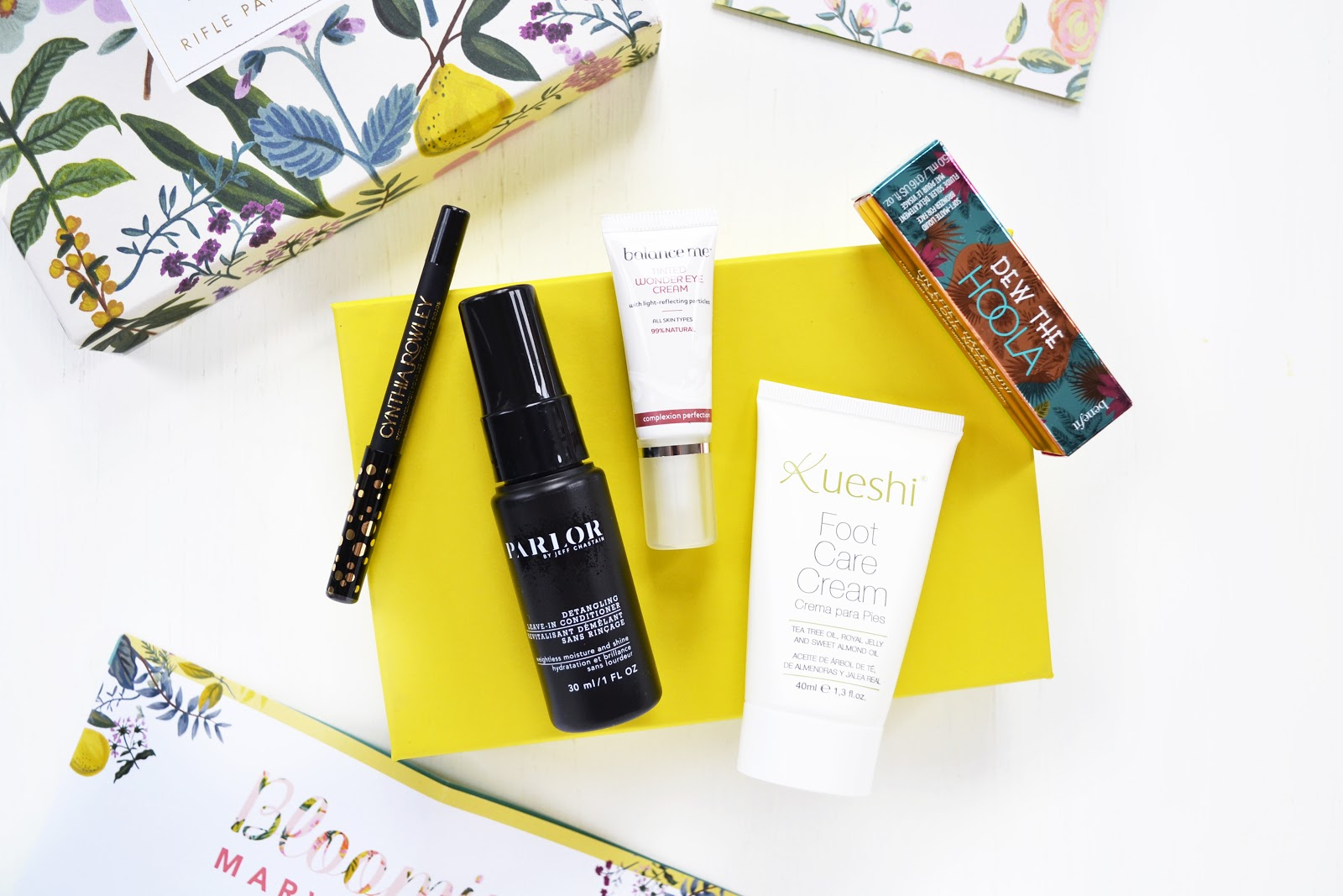 birchbox 2016, Birchbox April 2016 collaborated With Rifle Paper Co