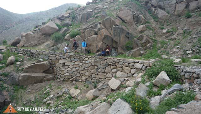 Tramo bien conservado - Camino Inca  Chontay a California