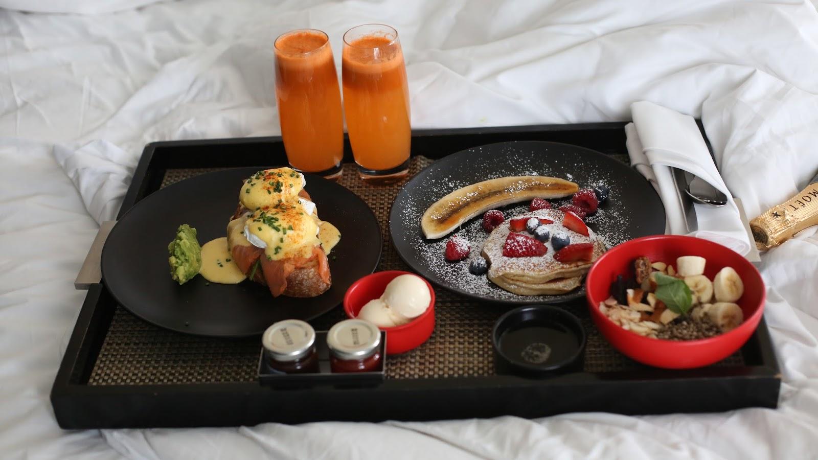 w hotel breakfast