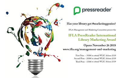 Enter IFLA's International Marketing Contest by 18 January