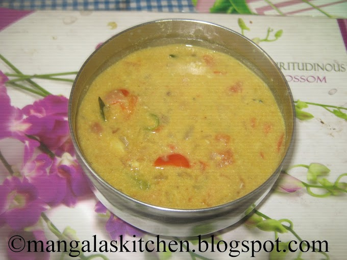 Chettinad Tomato Kurma - Thakkali Kuruma - Easy to make Kurma - Tiffin Sidedish Recipes