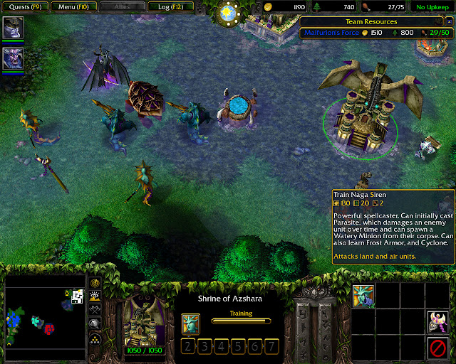 The Brothers Stormrage Mission 8   Shrine of Azhara Screenshot   Warcraft 3: The Frozen Throne