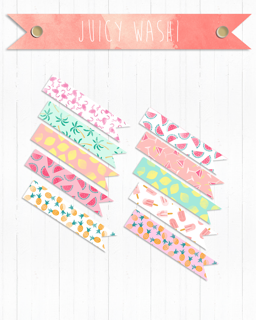 Washi Juicy and Peach and Ice Internet Shopping!