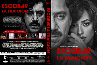 Loving Pablo - Pablo Escobar La traición - Cover DVD