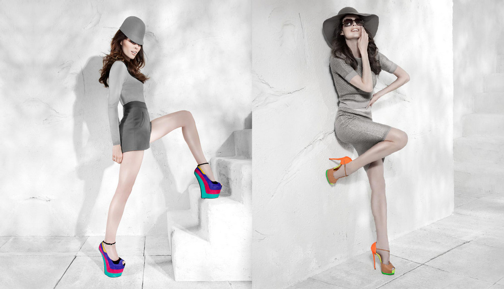 Coco Rocha goes glamorous for the Browns Shoes Fall Winter 2013 Campaign de5288434