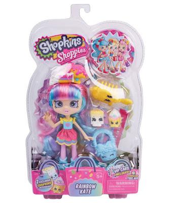 TOYS : JUGUETES - SHOPKINS   Shoppies - Rainbow Kate : Muñeca  2016 | Series 2 | A partir de 5 años Comprar en Amazon España & buy Amazon USA