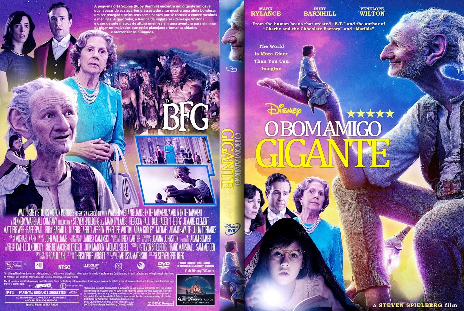 Download O Bom Gigante Amigo DVD-R