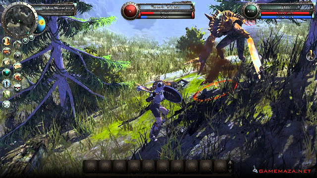 Legends Of Dawn Reborn Gameplay Screenshot 1