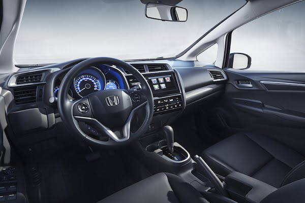 Interior Honda Fit 2019 Argentina