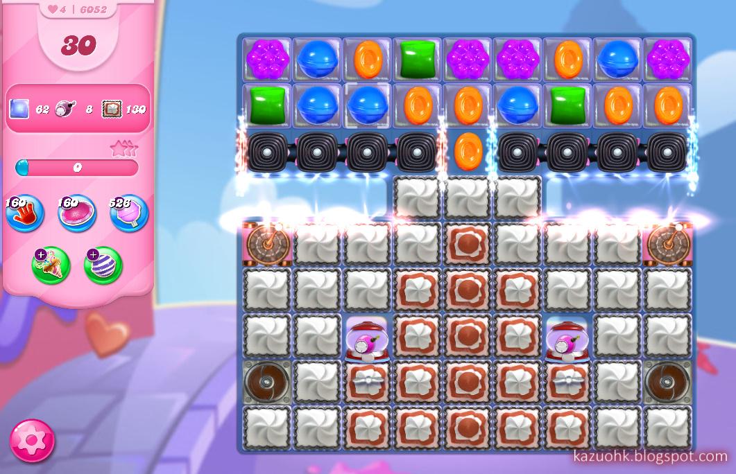 Candy Crush Saga level 6052
