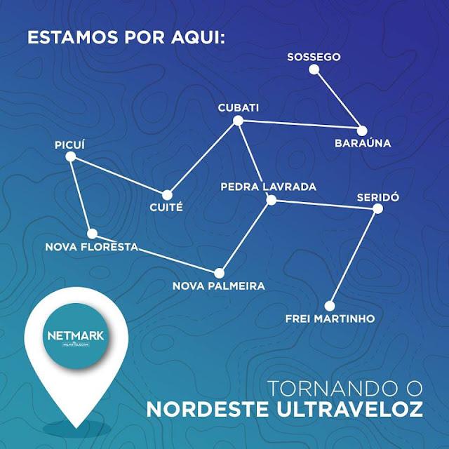 Netmark o melhor provedor de internet da região