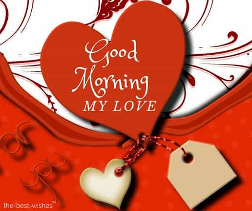 beautiful good morning pic with heart