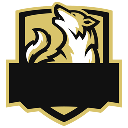 mentahan logo esport serigala
