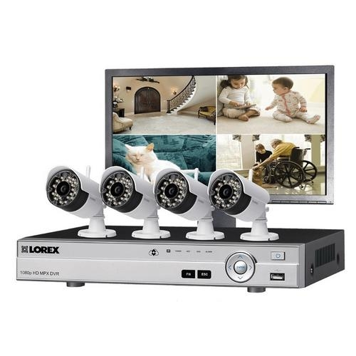Lorex, LW44MW Wireless Security Camera System w/ Monitor