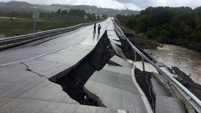 Chile earthquake tsunami warning lifted