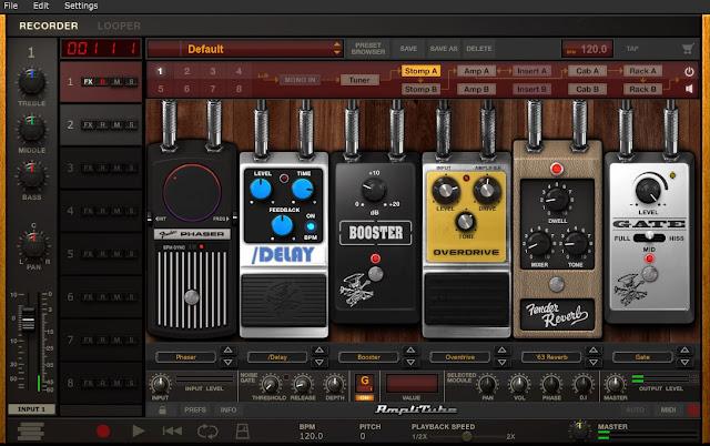 AmpliTube 4, Tutorial AmpliTube 4, How to use AmpliTube 4, How to Instal Amplitube 4, Efek Gitar Komputer, Aplikasi Efek Gitar, Cara Membuat Efek Gitar di Komputer, Cara Menggunakan Amplitube 4