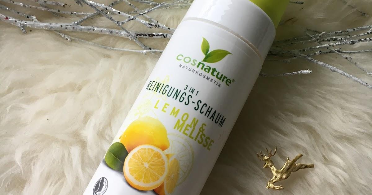 Naturalna pianka oczyszczająca 3w1 z cytryną i melisą z Cosnature