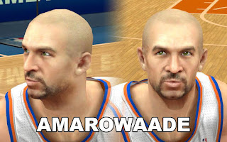 NBA 2K13 Mods - Jason Kidd Cyber Face Patch