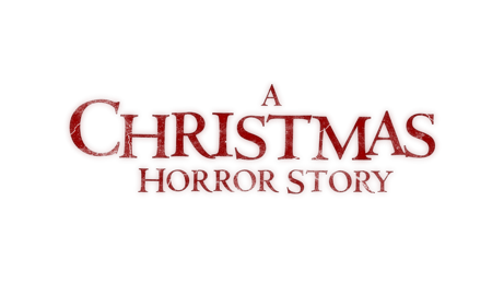 A christmas horror story banner title