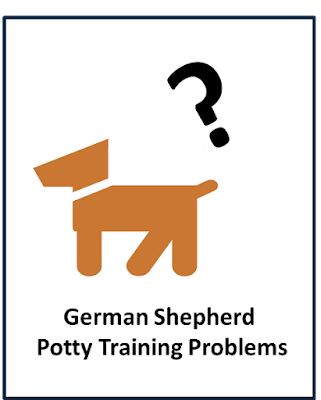 German Shepherd Potty Training Problems