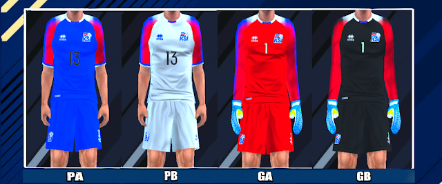5259726ad Iceland 2018 World Cup Kits PES PSP For Emulator PPSSPP