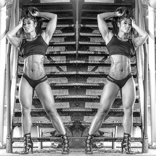 Fitness bikini Kayla Dee