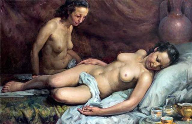 José Marced Furió, Il nude in arte, Artistic Nude