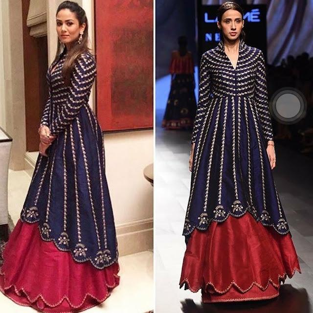 Mira Kapoor In Nachiket Barve