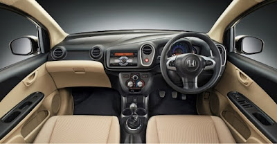 2017 Honda Mobilio Facelift interior