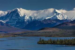 Paisagem natural do Alasca