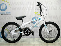 20 Inch Senator Fight BMX Bike White/Blue