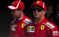 Kimi Raikkonen Sebastian Vettel F1 Monza 2018