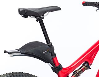 FenderBag on Pivot Bike