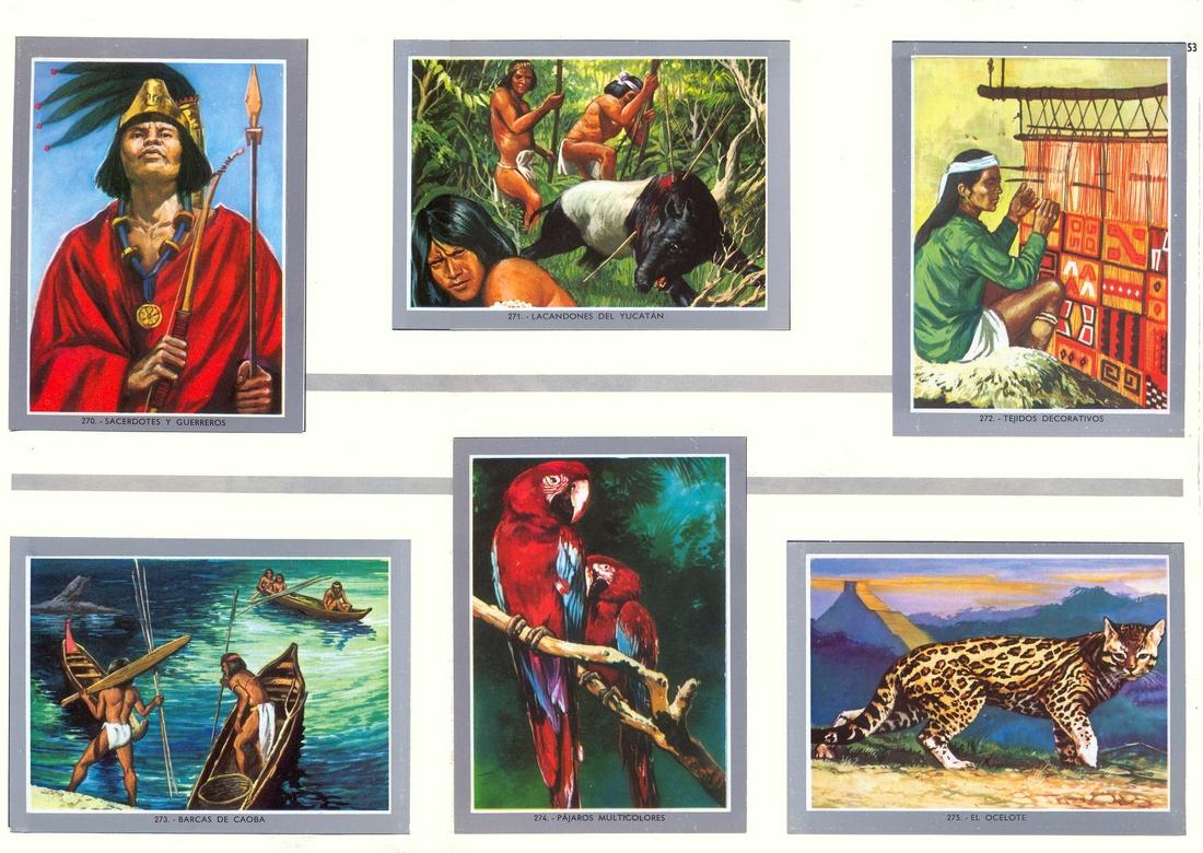 Memoria De Papel Vida Y Color 2 Mayas Y Aztecas