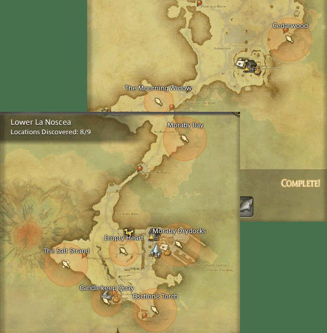 Final Fantasy 14 Fishing Spot Maps Amp Locations GamingReality