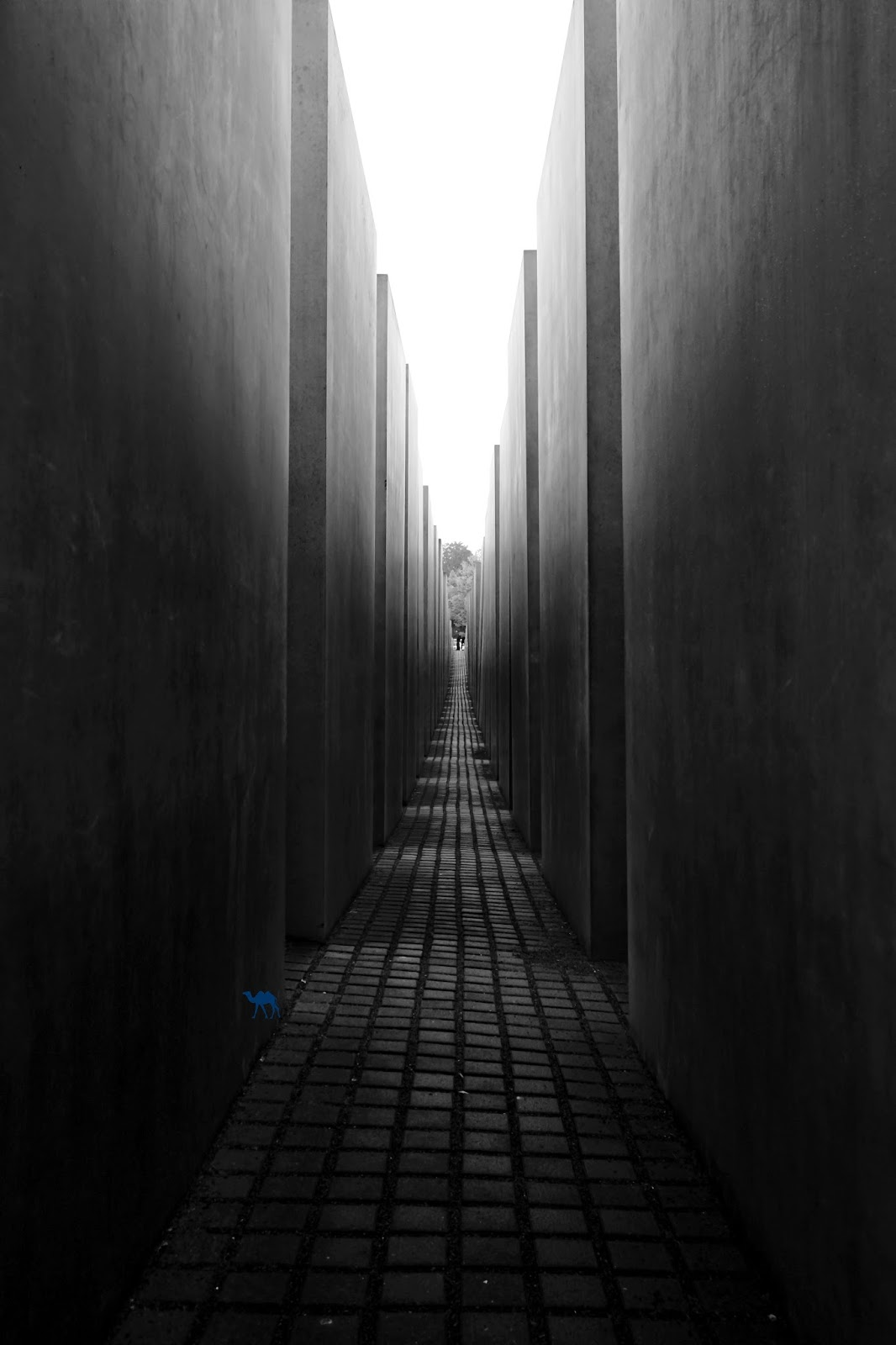 Le Chameau Bleu - Berlin - Mémorial de l'Holocauste