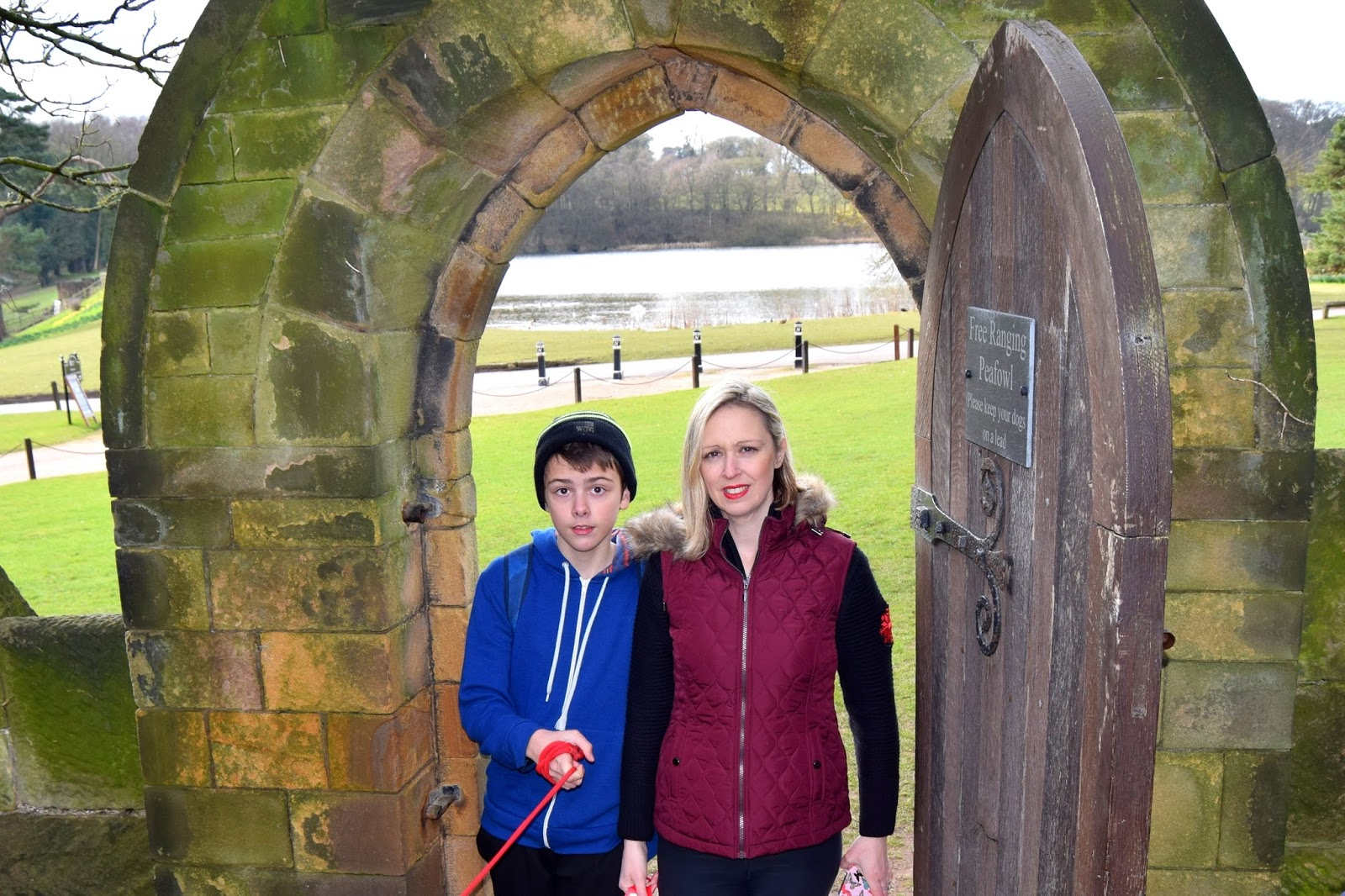 A Wrapped Up Cosy Walk In Newstead Abbey:
