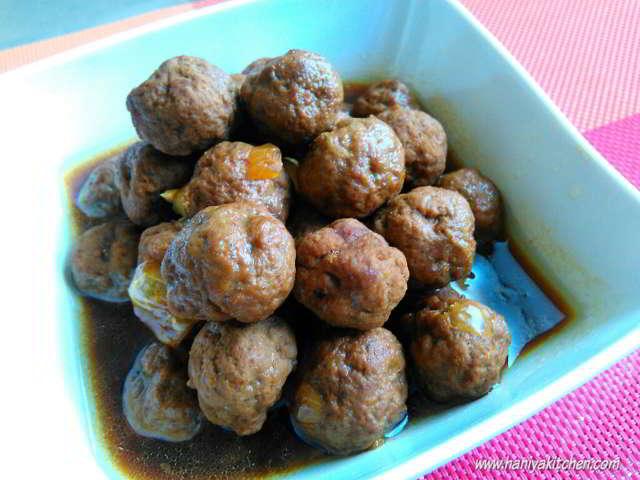 Resep semur bola bola daging