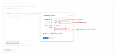 Cách Thêm Liên Kết Trang Web Vào Adwords