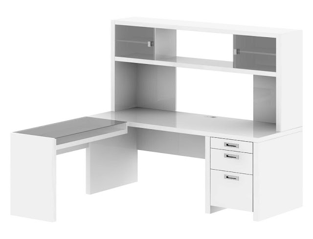 best buy cheap office desk white with hutch for sale online