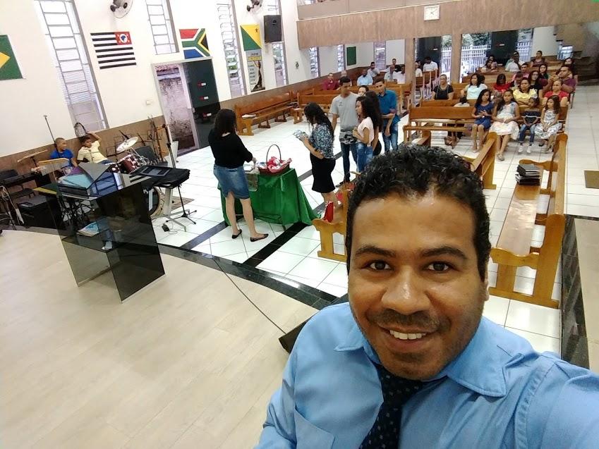 Trabalho da Escola Dominical em minha cidade