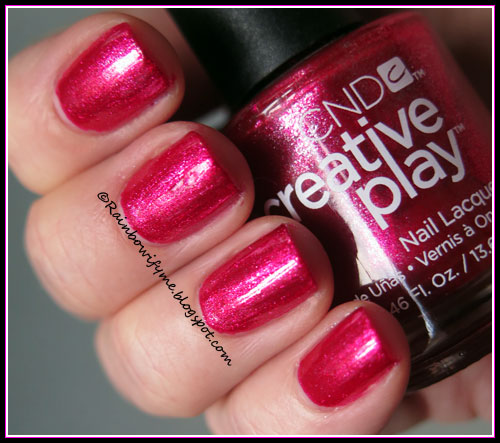 CND Creative Play ~ Flirting with Fire