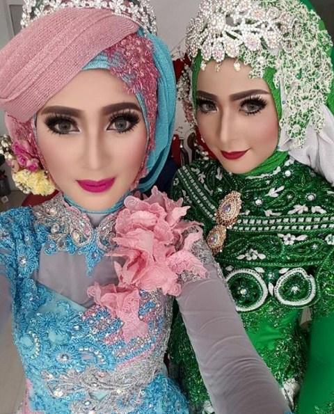 15 Contoh Hijab Modern Pengantin Yang Terpopuler dan