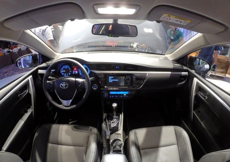 toyota corolla altis 2015 toyota tan cang 10 -  - Đánh giá Toyota Corolla Altis 2014 - Phượng hoàng lột xác