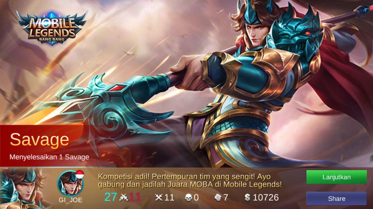 Gambar Mobile Legend Savage Terbaru