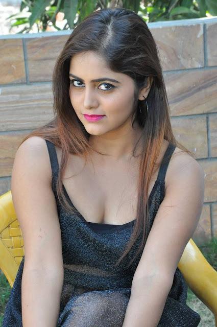 Pragya Nayan Stills At Samaram Movie Press Meet